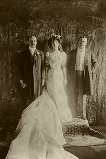 Alice Roosevelt's wedding photo